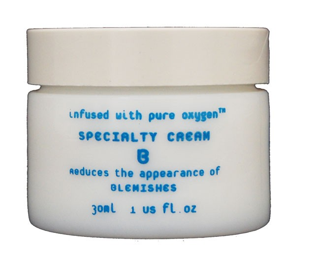 Oxygen Botanicals Specialty Cream B 1 oz